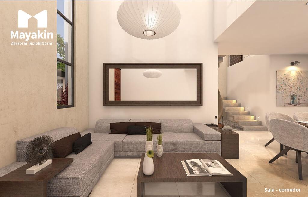 Casas Venta Mérida Residencia Ya'ax-beh modelo A Goodlers