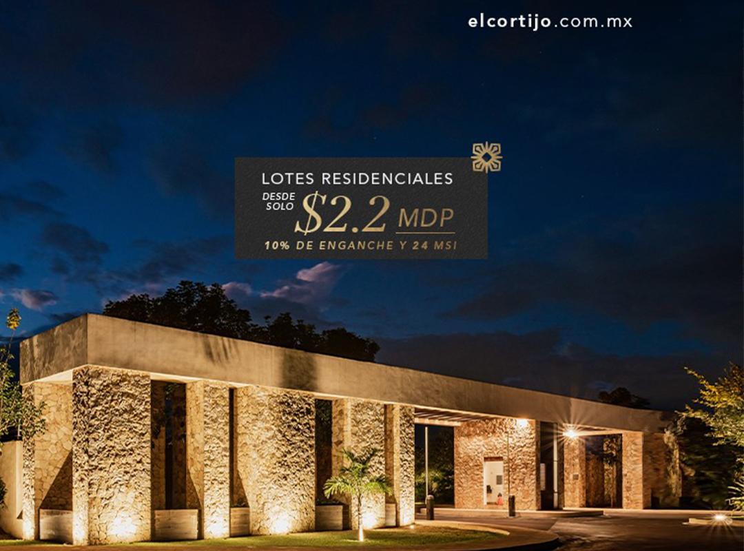 Terrenos Residenciales Venta Mérida El Cortijo Goodlers