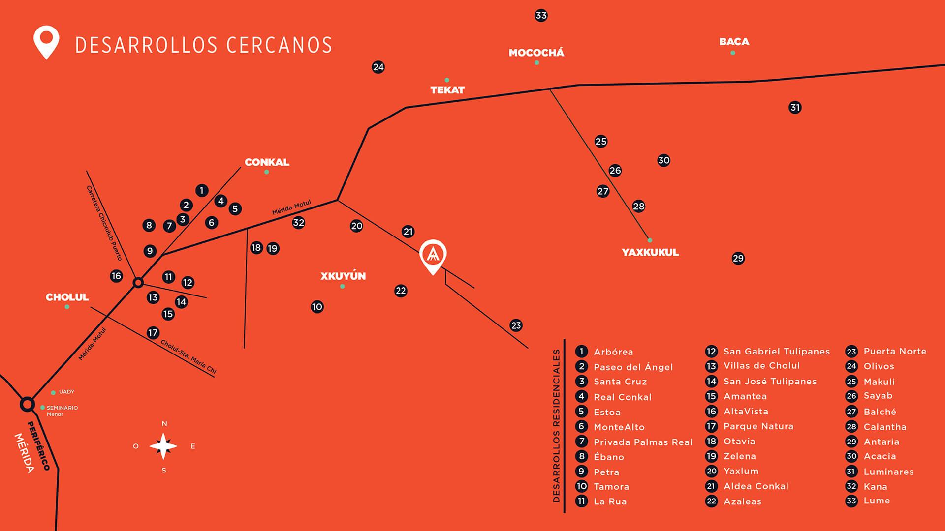 Terrenos Residenciales Venta Mérida Algea Goodlers