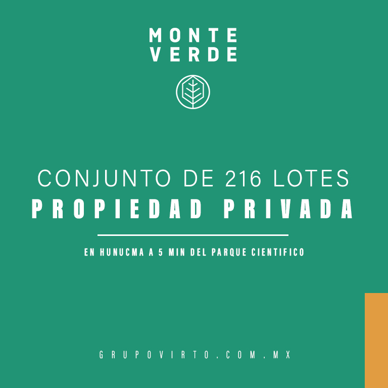 Terrenos Inversion Venta Mérida Monte Verde Goodlers