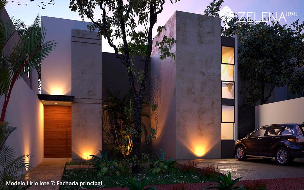 Casas Venta Mérida Casa privada Zelena - lote 7 Goodlers